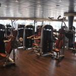 Os turistas fitness também tem um espaço só para eles