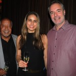 Osmar Souza, da Sealink, Viviane Chahim, da Flytour, e Alfredo Costa, do Vá na Viagem