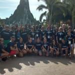 Participantes da Mega Fam conheceram o Volcano Bay, novo parque aquático da Universal