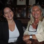 Patrícia Delpaso, da AM Travel, com Rosa Masgrau, do M&E