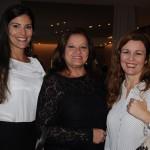 Patrícia Masche, Marcia Pessoa e Andréa Revoredo, do Rio CVB