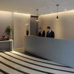 Recepção do LSH Lifestyle Hotels