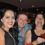 Renato Gomes, da Virtual, com Tatiana Santos E Marli Costa, da Guacuí Turismo