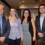 Ricardo Kaiser, Vivian Roque, Ana Paula Tomaz e Cleber Junior, da CVC