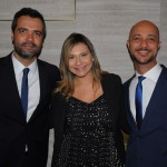 Roberto Gomides, CEO, Lia Coutinho, gerente de Vendas e Marketing, e Daniel Pompeu, gerente geral do LSH