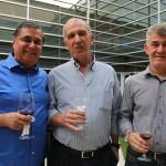 Ronaldo Waltrick, da Maiorca, Décio Slomp, da Avipam, e Lázaro Resende, da Belvitur