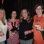 Rosa Masgrau, do M&E, Karma Haimenis, da AIT, Cleo Ickowicz, da Mandala Tours, e Claudia Meyrelles, da Plantel