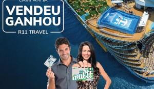 R11 Travel premia agentes por vendas de cruzeiros internacionais