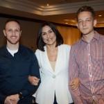 Sergio Delduque, Kelly Lima, e Gyeb Zonin, da Rota da Seda