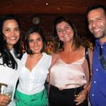 Tatiany Novacosque, da Formula, Ludmilla Ferreira, da Adnet, Cláudia Rodrigues e Marcelo Fin, da Formula Turismo