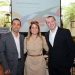 Valdir Miranda, Marta Sánchez e Daniel Santoro, da Iberia BA