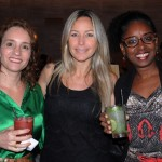 Wilma Barbosa, Glauce Domingues e Ieda Barbosa, da Shell