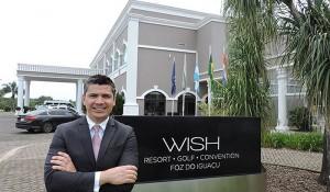 GJP anuncia novo gerente geral para o Wish Resort Foz do Iguaçu