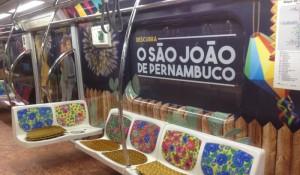 Pernambuco promove ação no metrô de São Paulo
