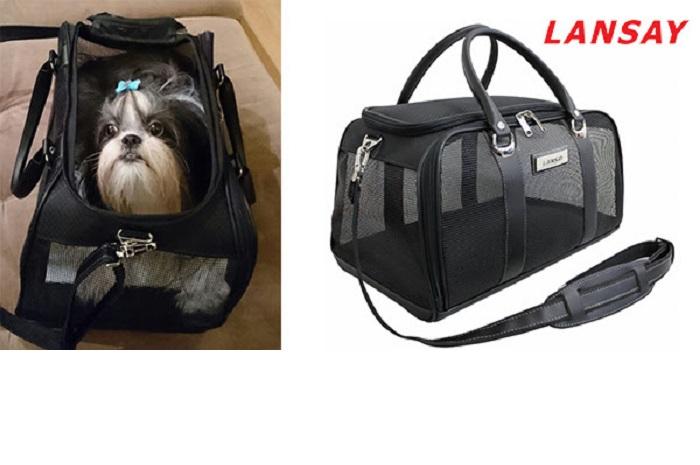 A Bolsa e a Sacola Pet Lansay podem ser encontradas na loja da marca na Vila Leopoldina, em São Paulo (Foto: Divulgação)