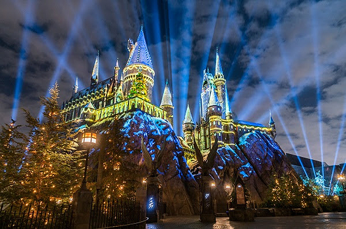 Natal no The Wizarding World of Harry Potter