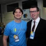 Adriano Gianini, da Monde, e Bernardo Ignarra, do M&E