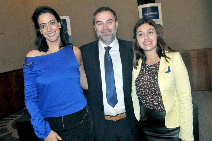 Alessandra Savoia, Gustavo Mesa e Nataly Romano, do Bahia Prncipe