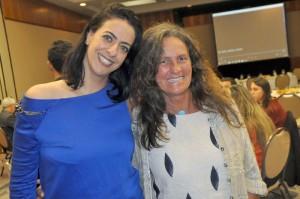 Alessandra Savoia, do Bahia Principe, e Mari Masgrau, do M&E.