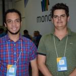 Alexandre Santana, da Mapa Viagens, e Bruno Barros, da B2 Viagens