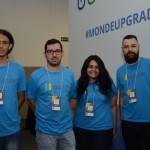 Anderson Macedo, Fabio Gomes, Paula Sasseron e Mateus Scapolan, da Mode