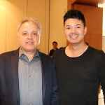 Carlos Prado, da Tour House, e Felipe Akagawa, da Tunibra