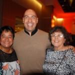Cristina Fritsch, Marcelo Oliveira e Maria Helena, da ABIH