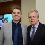 Edmilson Romão, presidente da Abav-SP, e Edmar Bull, presidente da Abav Nacional