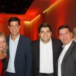 Equipe do Windsor com Vitor Almeida, Carmen Ponte, Ivan Bonfim e Ricardo Crespim