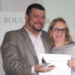 Eric Boulanger homenageado por seu trabalho