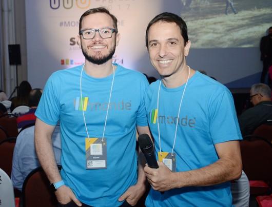 Erick Sasse e Daniel Biancareli, CEO e diretor comercial da Monde