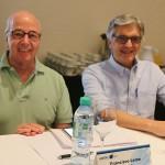 Francisco Leme, da Jet Stream, e Amauriu Caldeira, da Sobratur