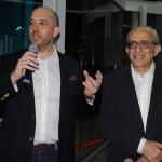Frederico Pedreira e José Efromovich agradeceram o apoio do GRU e parceiros