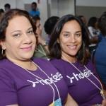 Juliana Ribeiro e Milene Quintal, da Rextur Advance