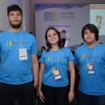 Luiz Fellipe, Isabela braga e Vinicius Carli, da Monde