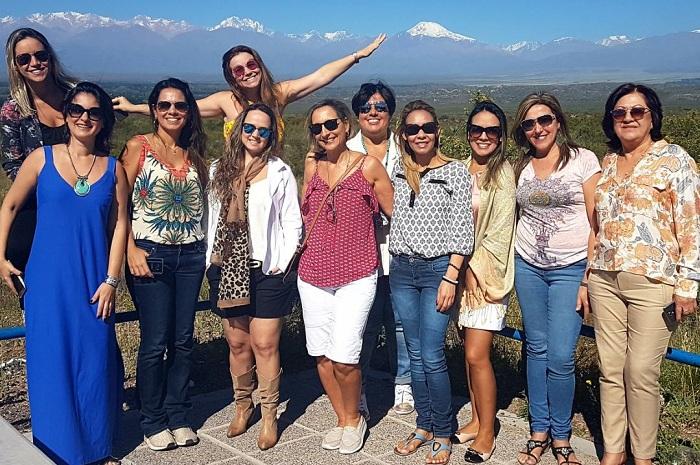 Os agentes puderam conhecer de perto a maior região produtora de vinhos da Argentina (Foto: Divulgação)