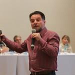 O professor Miguel Noronha Feyo apresentou palestra sobre os possíveis cenários de 2018