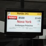 Pela primeira vez na história, NY apareceu como destino da Avianca em GRU
