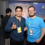 Rafael Santos, palestrante, e Erick Sasse, CEO da Monde