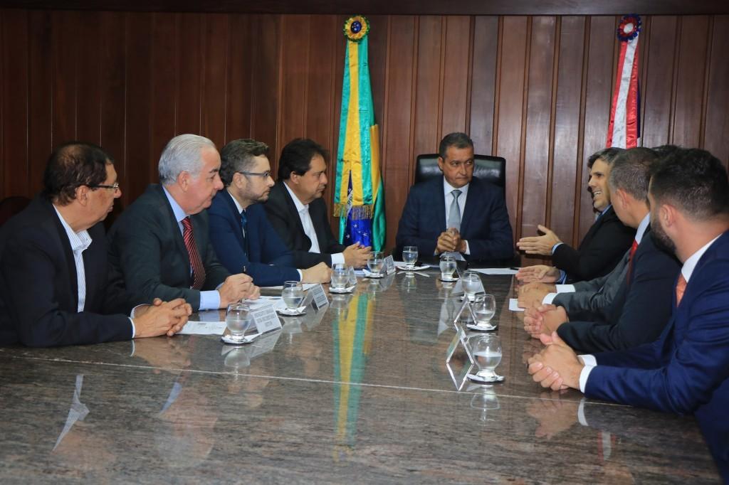 Reunião que selou nova operação internacional