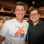 Rogério Siqueira, CEO do BCW, e o presidente da ABAV-SC, Eduardo Loch