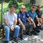 Tanabe, da Abracorp, Jungi Hira, da Tunibra, Luis Vabo, da Solid, e Humberto Vieira, da Primus Turismo