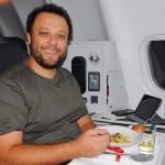 Thomaz Troisgros, chef responsável pelos pratos servidos na Business