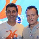Rogério Siqueira, CEO do Beto Carrero, e o deputado Celso Russomano