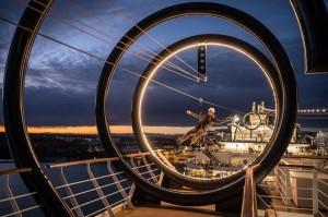MSC Seaside apresenta a tirolesa mais longa em alto mar - Imagem de Ivan Sarfatti