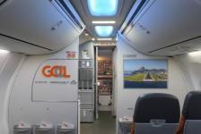 Gol inaugura a primeira exposição de arte a bordo do mundo