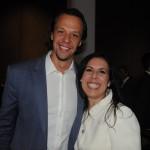 Bruno Giovanni, do RIOgaleão, e Gisele Lima, da Promo