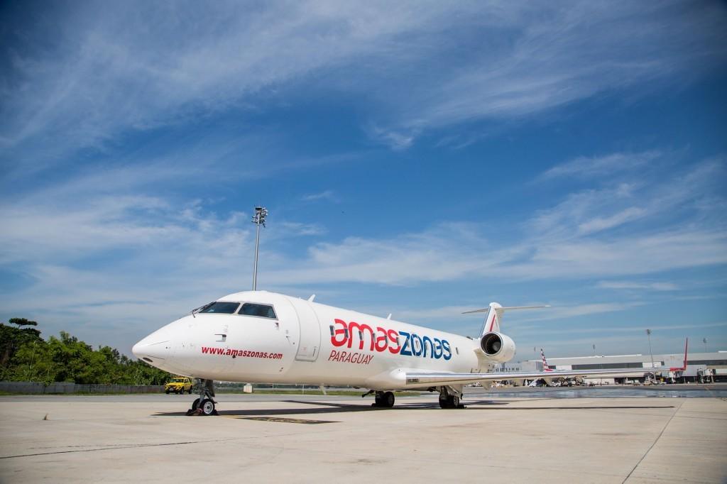 CRJ 200 da Amaszonas