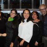Claudia Barragán, da Incentive Planners, Nastassia Welter, da Sightseeing Pass, Luisa Mendoza, do NYC & Company, Magaly Buitrago, da Incentive Planners, e Luiz Possebon, da One World Observatory