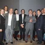 Empresários e autoridades que vieram do RJ, como o diretor executivo do Rio CVB, Michael Nagy, e o presidente da Riotur, Marcelo Alves
